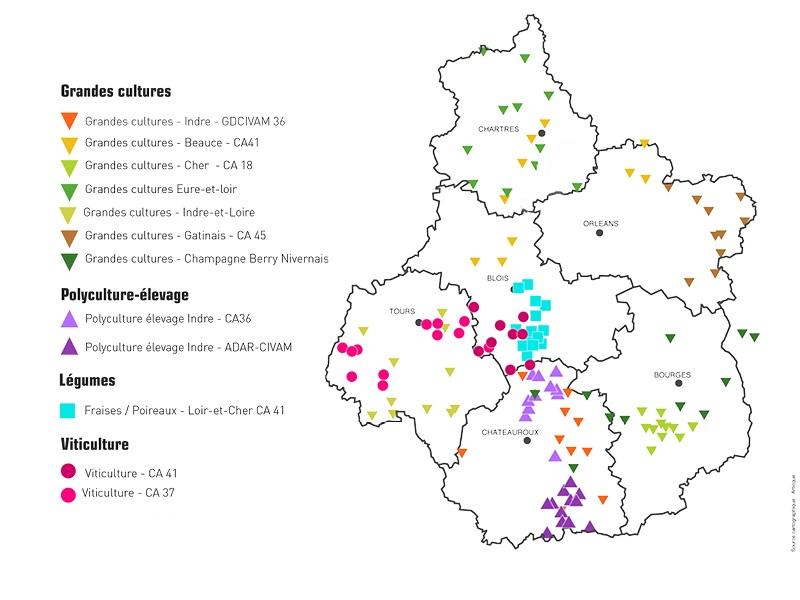 Dephy En CentreVal De Loire  Chambres DAgriculture CentreVal De