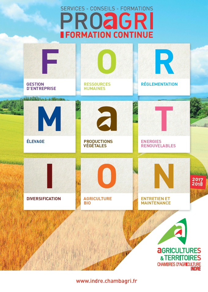 Formations 2017 2018 chambres d 39 agriculture centre val for Recrutement chambre agriculture